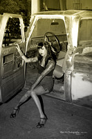 hot rod pin up II